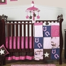 Western Horse Cowgirl Baby Bedding - 11pc Crib Set