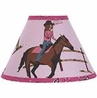 Western Horse Cowgirl Lamp Shade by Sweet Jojo Designs