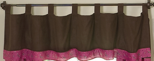Western Horse Cowgirl Window Valance by Sweet Jojo Designs - Click to enlarge