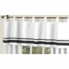 White and Black Hotel�Modern Window Valance by Sweet Jojo Designs