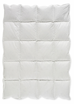 White Baby Crib Down Alternative Comforter / Blanket