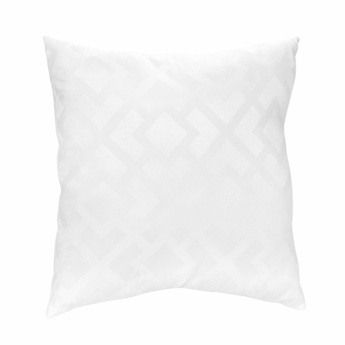 White Diamond Jacquard Modern Decorative Accent Throw Pillow by Sweet Jojo Designs - Click to enlarge
