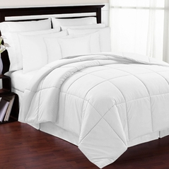 White Down-Alternative Comforter<br> Available in Twin Size
