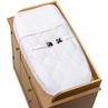 White Eyelet Changing Pad Cover