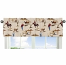 Wild West Cowboy Western Collection Window Valance by Sweet Jojo Designs