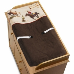 Wild West Cowboy Western Horse Baby Boys Changing Pad Cover by Sweet Jojo Designs