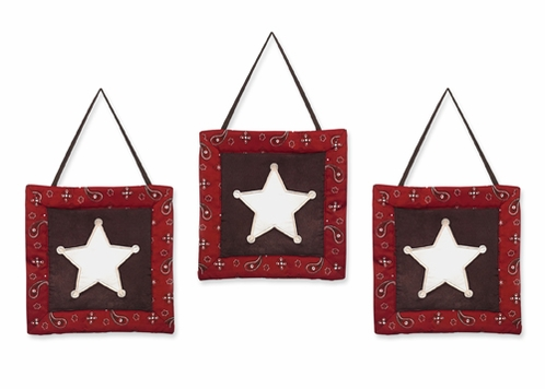 Wild West Cowboy Western Wall Hanging Accessories by Sweet Jojo Designs - Click to enlarge