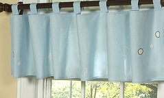 Window Valance for Go Fish Ocean Fish Bedding Sets by Sweet Jojo Designs