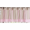 Window Valance for Pink and Brown Mod Dots Bedding Sets by Sweet Jojo Designs