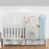 Woodland Animal Toile Baby Boy or Girl Bedding - 11pc Crib Set by Sweet Jojo Designs