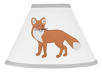 Woodland Animal Toile Lamp Shade by Sweet Jojo Designs