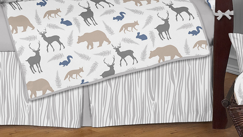 Woodland Animals Baby Bedding 9pc Crib Set By Sweet Jojo Designs Only 189 99