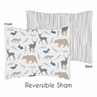 Woodland Animals Pillow Sham by Sweet Jojo Designs