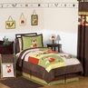 Woodland Forest Animals Kids Bedding - 4pc Boys Twin Set by Sweet Jojo Designs