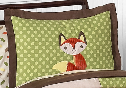 Forest Friends Pillow Sham - Click to enlarge