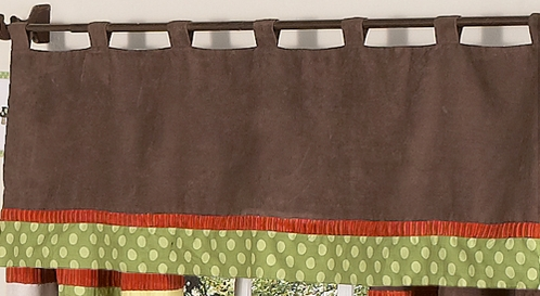 Forest Friends Window Valance by Sweet Jojo Designs - Click to enlarge