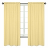 Yellow Honeycomb Window Treatment Panels for Honey Bee Collection by Sweet Jojo Designs - Set of 2