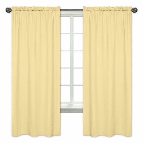 Yellow Window Treatment Panels by Sweet Jojo Designs - Set of 2 - Click to enlarge