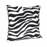 Zebra Print Decorative Accent Throw Pillow for Purple Zebra Bedding Set