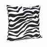 Zebra Print Decorative Accent Throw Pillow for Turquoise Zebra Bedding Set