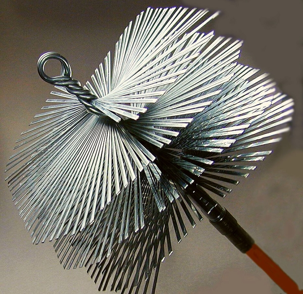 12 Inch X 12 Inch Square Master Sweep Flat Wire Brush Head