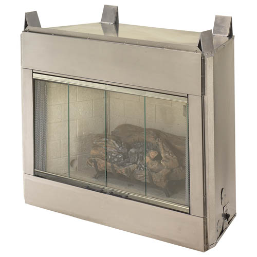 Fmi Alpine Outdoor 36 In Natural Gas Vent Free Fireplace System