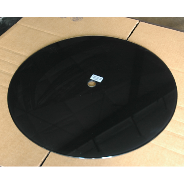 Black Glass Fire Pit Center Top Replacement