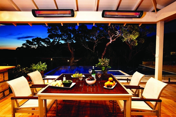 Bromic Tungsten 6000W Smart Heat Infrared Electric Patio Heater