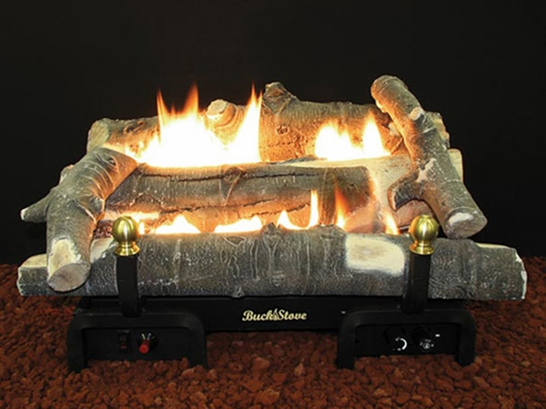 Buck Stove 24 Quot Aspen Series Vent Free Propane Gas Log Set