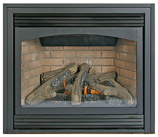 Buck Stove Ember Vision Direct Vent Zero Clearance Gas Fireplace - Natural Gas The Buck Stove Ember Vision Direct Vent Zero Clearance Gas Fireplace can be counted on for attractive aesthetics and functionality features; watch all this come together