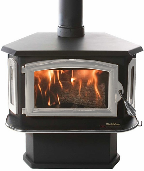 Image result for buck stove pewter bay windows