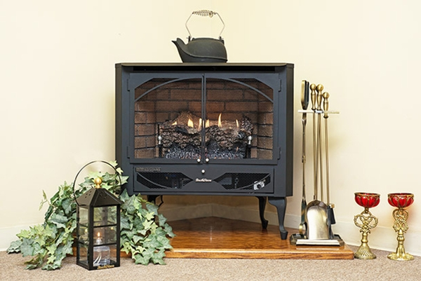 Buck Stove Model 384 Vent Free Gas Stove Natural Gas