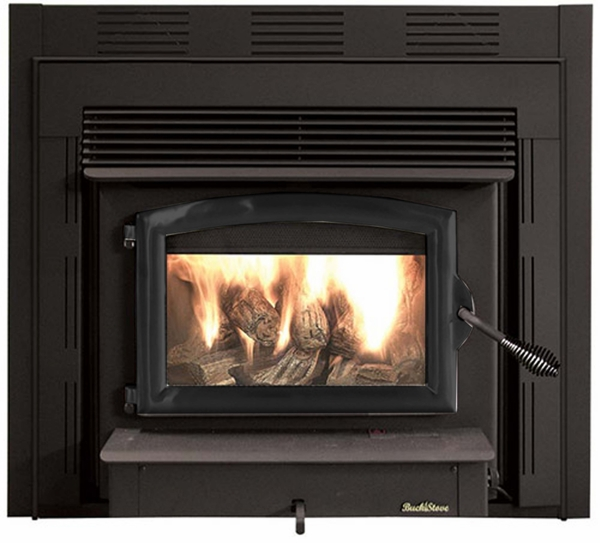 Buck Stove Model 74zc Non Catalytic Wood Stove Black Door