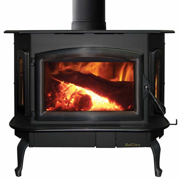 Buck Stove Model 94nc Non Catalytic Wood Stove Black Door