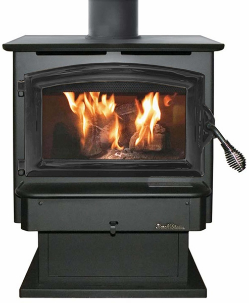 Buck Stove Model FS21 Non-Catalytic Wood Stove - Black Door The Buck Stove Model FS21 Non-Catalytic Wood Stove Black Door has the finish that you