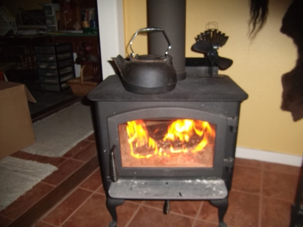 Ecofan UltraAir 810 Heat Powered Wood Stove Fan