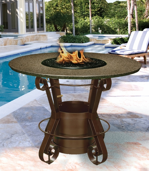 California outdoor concepts 1030 solano bar height fire pit for California outdoor concepts