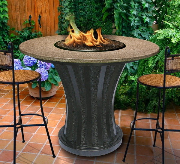 California outdoor concepts 7651 rodeo balcony height fire pit for California outdoor concepts