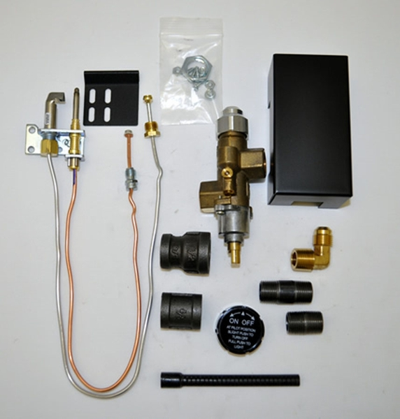 Copreci 72pkn Natural Gas Safety Pilot Kit With Side Inlet Valve