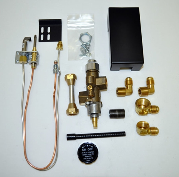 Copreci 72pknqm Natural Gas Safety Pilot Kit With Quick Mount Connector And Side Inlet Valve