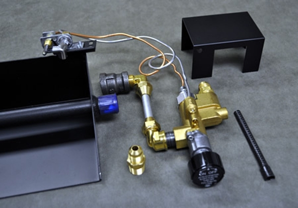 Copreci 80pkn Natural Gas Safety Pilot Kit With Rear Inlet Valve
