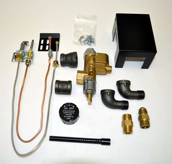 Copreci 83pkn Natural Gas Safety Pilot Kit With Rear Inlet Valve