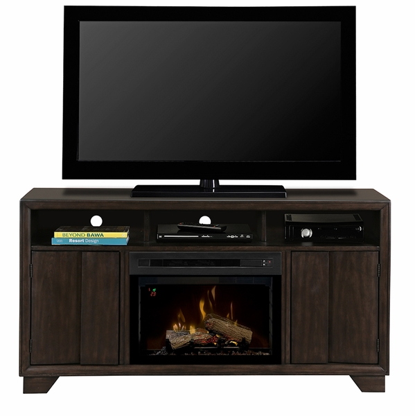 Dimplex Bayne Electric Fireplace and Media Console with