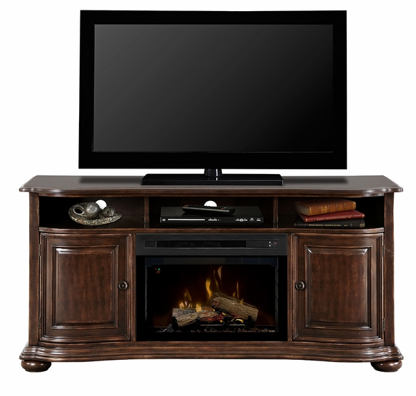 Dimplex Gds25l 1414hc Henderson Electric Fireplace And Media Console With Log Set