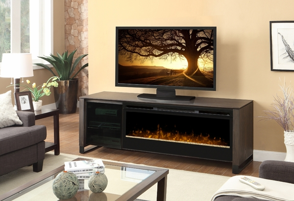 cherry tv consoles mz console in with infrared mayfield products electric media accessories fireplace
