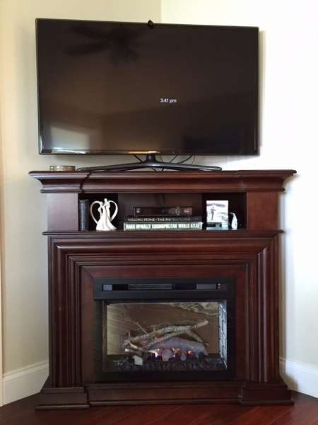 Dimplex Montgomery Electric Fireplace And Media Console