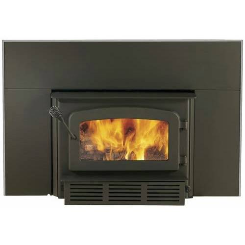 Drolet Escape 1400 Wood Burning Fireplace Insert W Blower Included Db03120