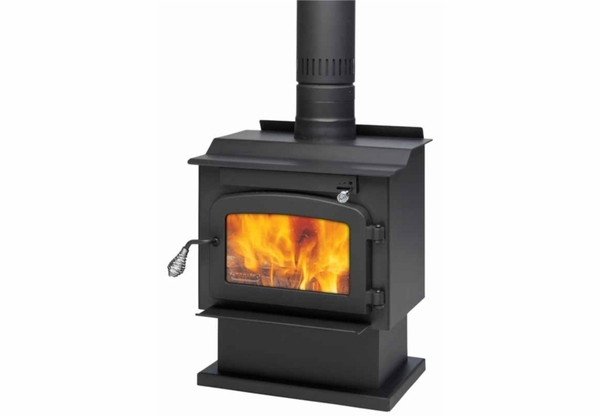 Drolet pyropak extra small wood burning stove db03180 for Most efficient small wood burning stove