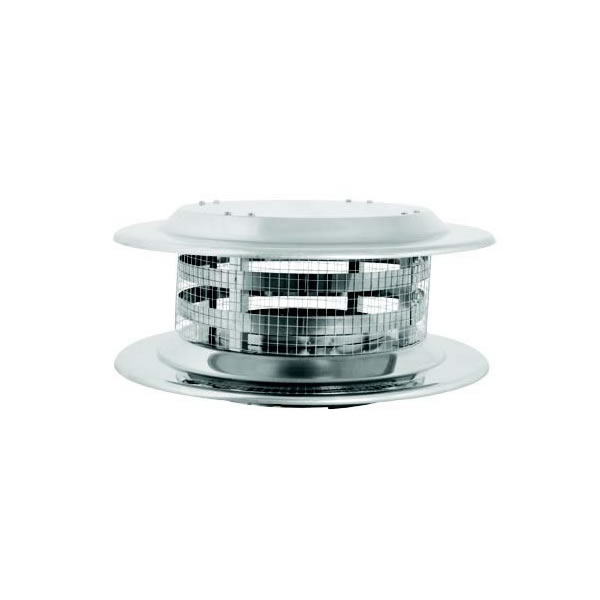 Dura-Vent DuraTech 14 Inch Diameter Rain Cap with Spark Arrestor Your DuraVent system is constructed from finely designed and built components that ensure your chimney system will be safely vented for years to come. This DuraVent DuraTech 14-inch diameter