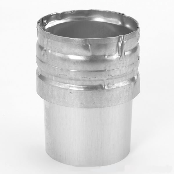 Hood Exhaust Pipe : Dura vent type b gas draft hood connector for